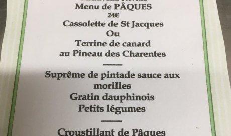 restaurant Dine ami table menu vente à emporter La Séauve/Semène